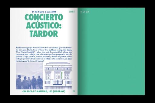 Julià Roig Circuit de les Arts 2015 — Booklet
